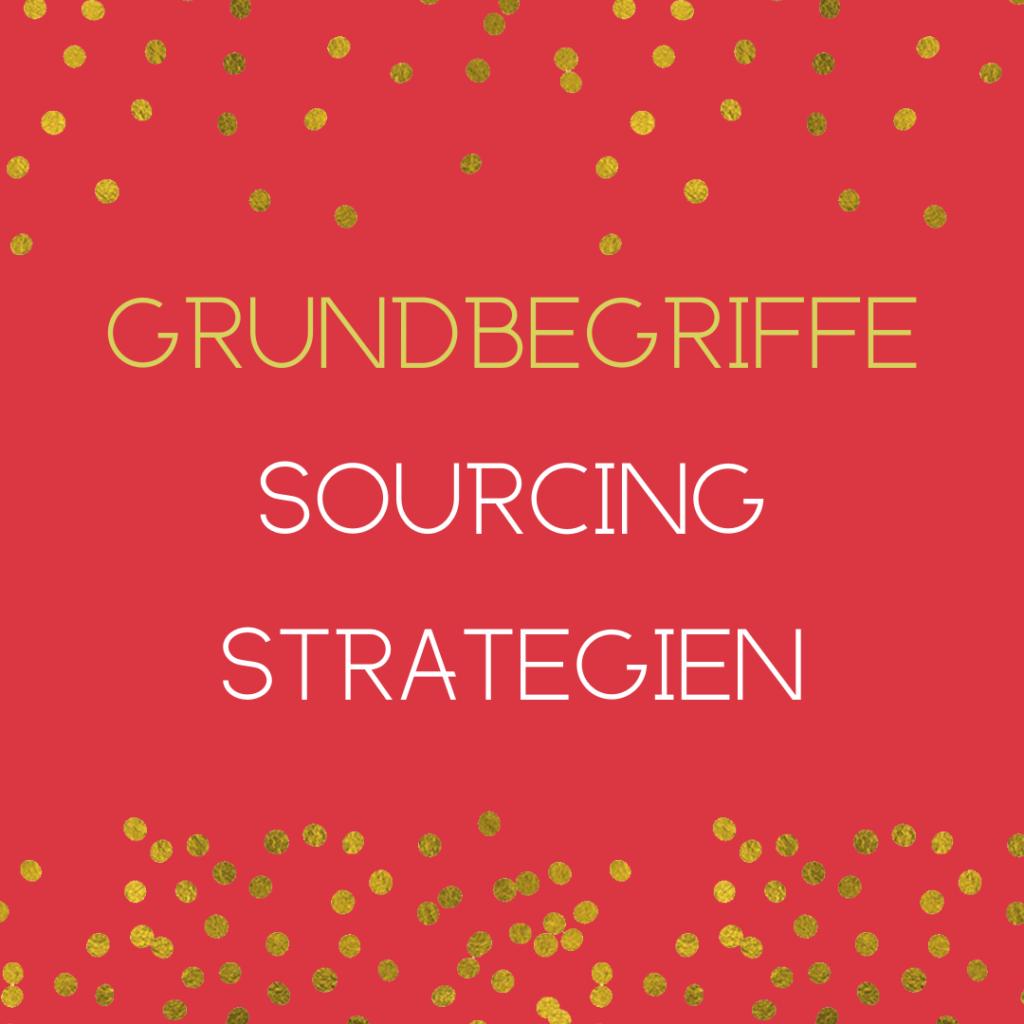 sourcing strategien